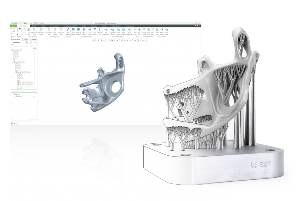 CAD to part – creo additive manufacturing extension